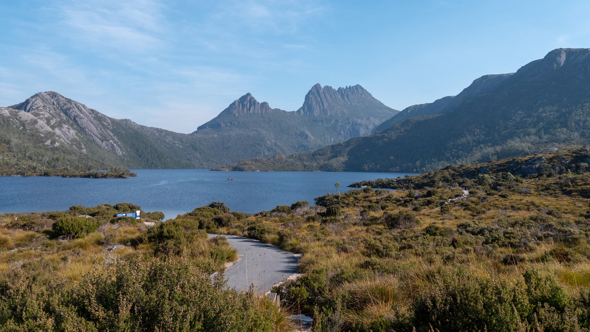 L'ascension de Cradle Mountain en 7h<br><br> 1