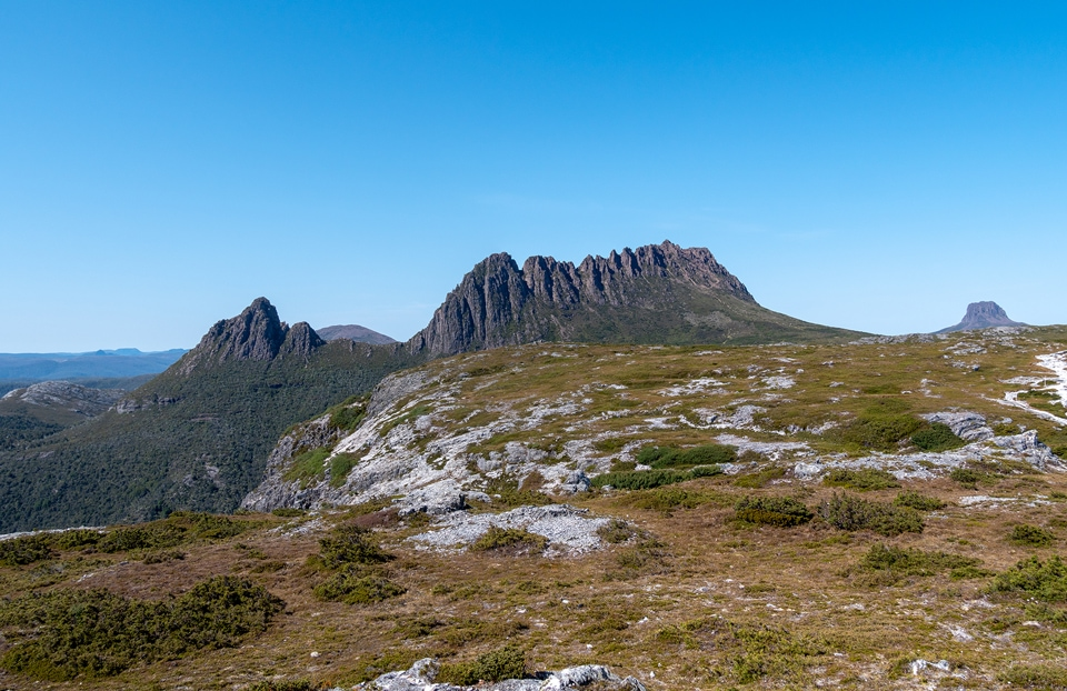 L'ascension de Cradle Mountain en 7h<br><br> 10