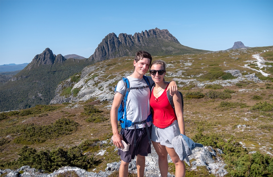 L'ascension de Cradle Mountain en 7h<br><br> 9