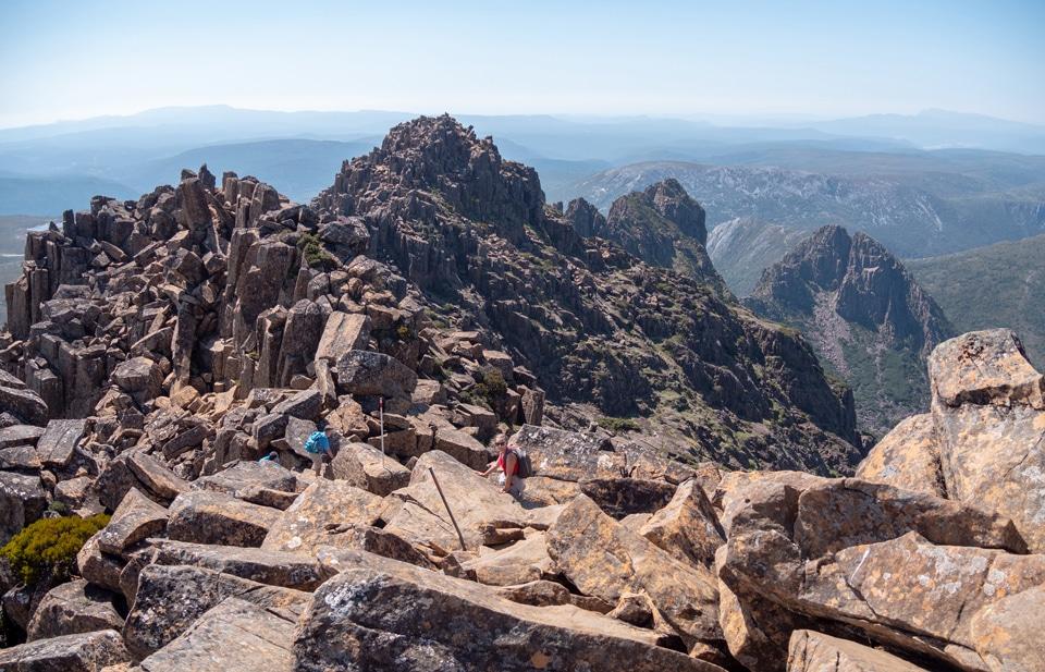 L'ascension de Cradle Mountain en 7h 20