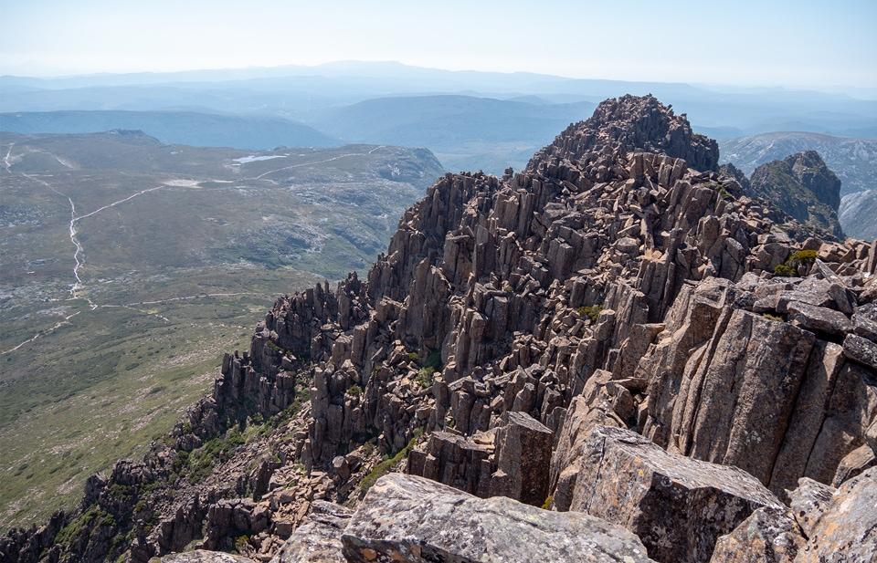 L'ascension de Cradle Mountain en 7h 21