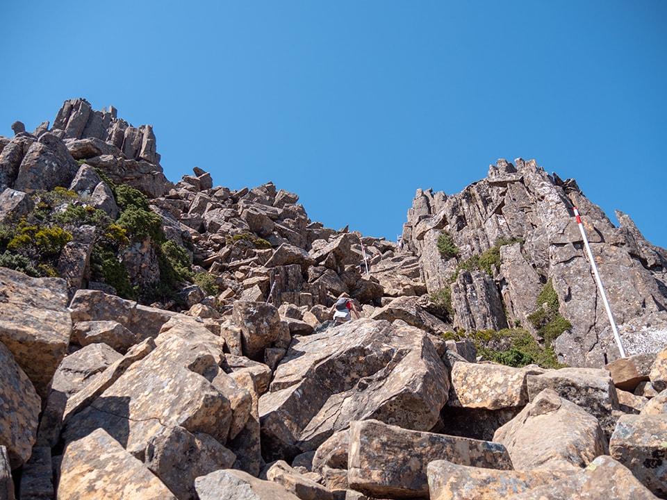 L'ascension de Cradle Mountain en 7h 19