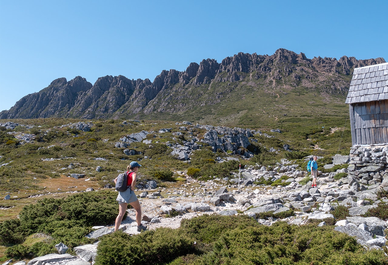 L'ascension de Cradle Mountain en 7h<br><br> 15