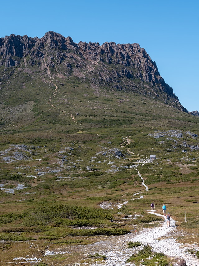 L'ascension de Cradle Mountain en 7h<br><br> 12