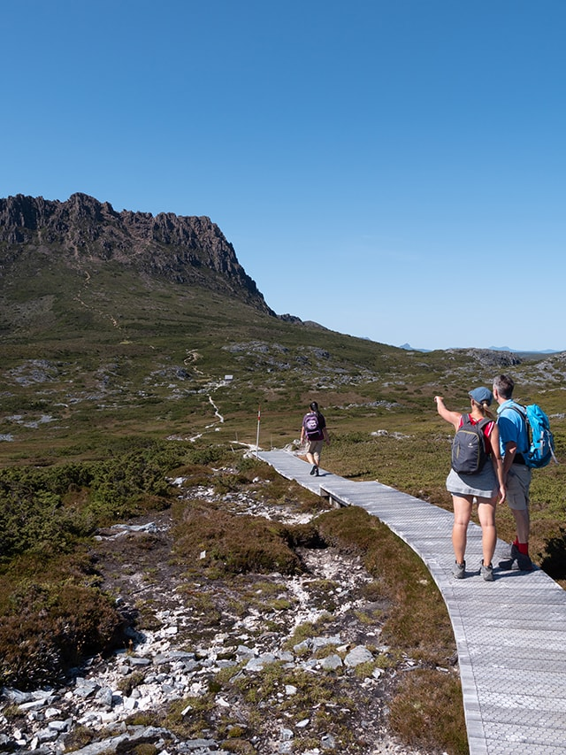 L'ascension de Cradle Mountain en 7h<br><br> 11