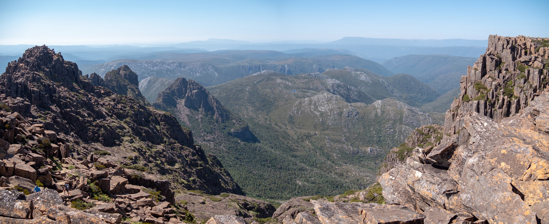 L'ascension de Cradle Mountain en 7h<br><br> 2