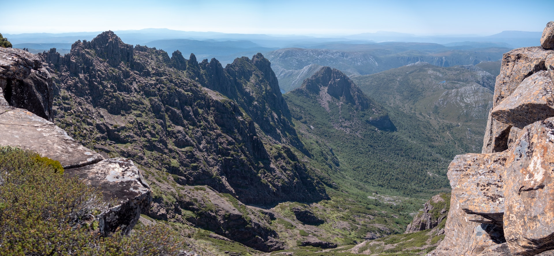 L'ascension de Cradle Mountain en 7h<br><br> 25