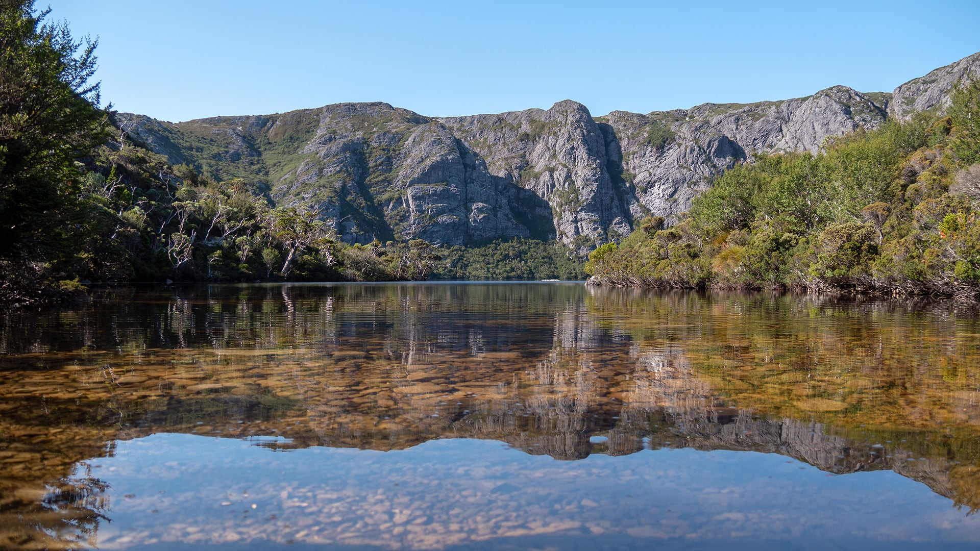 L'ascension de Cradle Mountain en 7h<br><br> 5