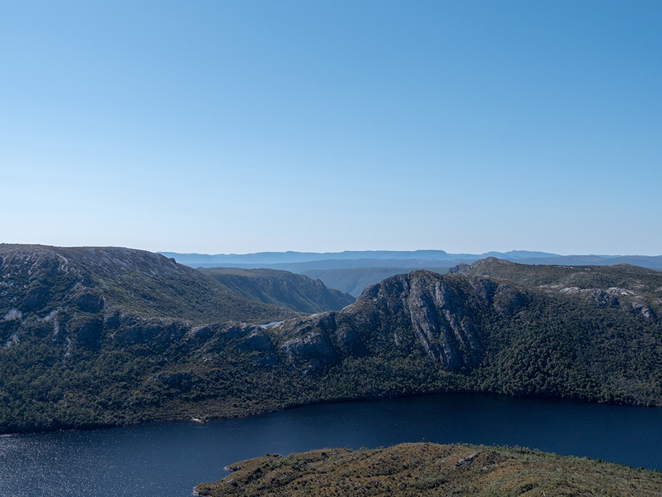 L'ascension de Cradle Mountain en 7h<br><br> 7