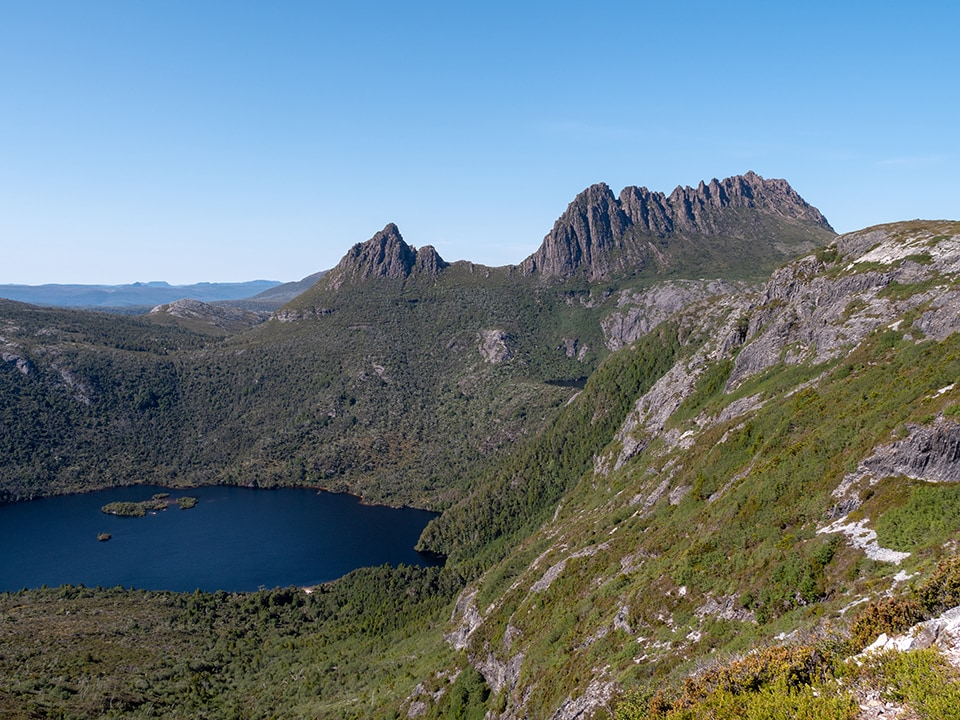 L'ascension de Cradle Mountain en 7h<br><br> 8