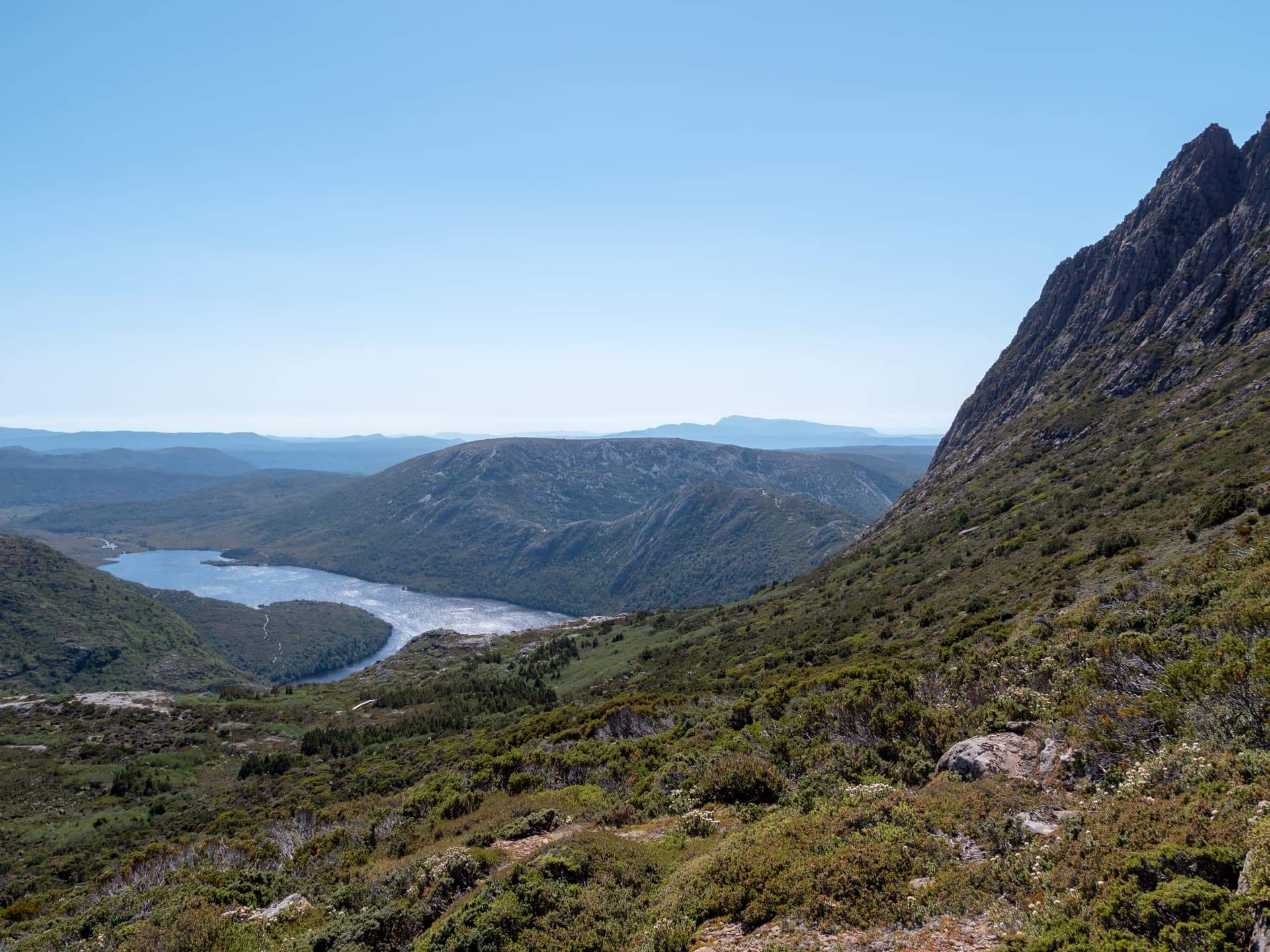 L'ascension de Cradle Mountain en 7h<br><br> 31